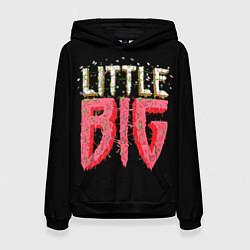 Толстовка-худи женская Little Big цвета 3D-черный — фото 1