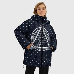 Куртка зимняя женская Illuminati цвета 3D-черный — фото 2