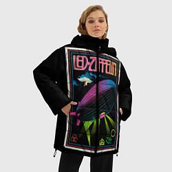 Куртка зимняя женская Led Zeppelin: Angel Poster - фото 2