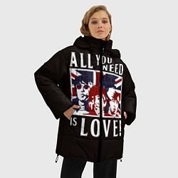 Куртка зимняя женская All You Need Is Love - фото 2