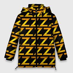 Женская зимняя 3D-куртка с капюшоном с принтом Brazzers Z, цвет: 3D-черный, артикул: 10133766306071 — фото 1