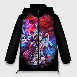 Куртка зимняя женская No Game No Life Zero цвета 3D-черный — фото 1