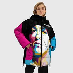 Куртка зимняя женская Eminem Poly Art цвета 3D-черный — фото 2