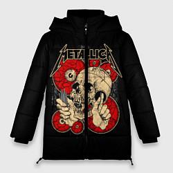 Куртка зимняя женская Metallica Skull - фото 1
