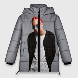 Женская зимняя 3D-куртка с капюшоном с принтом T-Fest, цвет: 3D-черный, артикул: 10144503706071 — фото 1