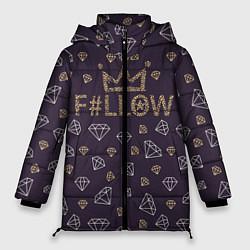 Куртка зимняя женская Follow to King цвета 3D-черный — фото 1