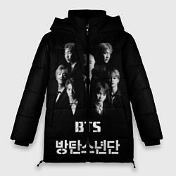 Куртка зимняя женская BTS Group цвета 3D-черный — фото 1