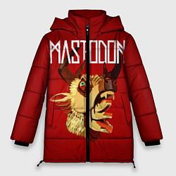 Женская зимняя 3D-куртка с капюшоном с принтом Mastodon: Leviathan, цвет: 3D-черный, артикул: 10172762506071 — фото 1