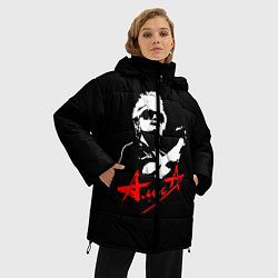 Куртка зимняя женская АлисА цвета 3D-черный — фото 2