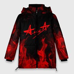 Куртка зимняя женская АлисА цвета 3D-черный — фото 1