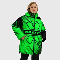 Женская зимняя 3D-куртка с капюшоном с принтом NILETTO, цвет: 3D-черный, артикул: 10210975106071 — фото 2