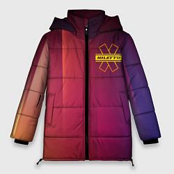 Женская зимняя 3D-куртка с капюшоном с принтом NILETTO, цвет: 3D-черный, артикул: 10211067306071 — фото 1