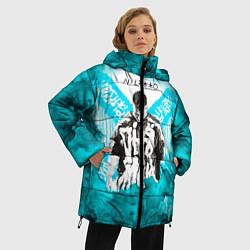 Женская зимняя 3D-куртка с капюшоном с принтом NILETTO, цвет: 3D-черный, артикул: 10211253306071 — фото 2