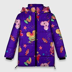 Женская зимняя 3D-куртка с капюшоном с принтом Минни Маус, цвет: 3D-черный, артикул: 10250076706071 — фото 1