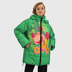 Женская зимняя 3D-куртка с капюшоном с принтом Minnie Mouse OMG, цвет: 3D-черный, артикул: 10250079106071 — фото 2