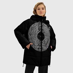 Женская зимняя 3D-куртка с капюшоном с принтом JOY DIVISION, цвет: 3D-черный, артикул: 10265927906071 — фото 2