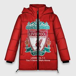 Куртка зимняя женская Liverpool цвета 3D-черный — фото 1