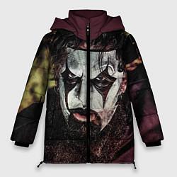 Куртка зимняя женская Slipknot Face цвета 3D-черный — фото 1