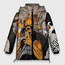 Куртка зимняя женская Metallica: Guitar Hero - фото 1