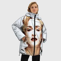 Куртка зимняя женская Мадонна цвета 3D-черный — фото 2