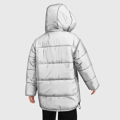 Женская зимняя куртка Кино: Виктор Цой / 3D-Черный – фото 4