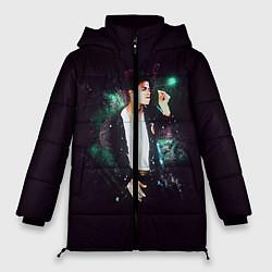 Куртка зимняя женская Michael Jackson цвета 3D-черный — фото 1