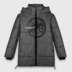 Куртка зимняя женская The Prodigy: Dark Asphalt цвета 3D-черный — фото 1