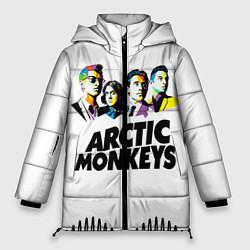 Куртка зимняя женская Arctic Monkeys: Music Wave - фото 1