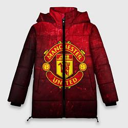 Куртка зимняя женская Манчестер Юнайтед - фото 1