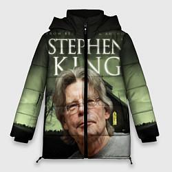 Женская зимняя 3D-куртка с капюшоном с принтом Bestselling Author, цвет: 3D-черный, артикул: 10095786806071 — фото 1