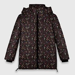 Женская зимняя 3D-куртка с капюшоном с принтом Унесённые призраками, цвет: 3D-черный, артикул: 10096214906071 — фото 1