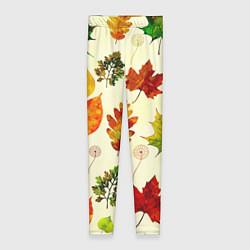 Леггинсы женские Осень цвета 3D — фото 1