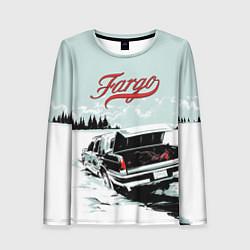 Лонгслив женский Fargo Car цвета 3D — фото 1