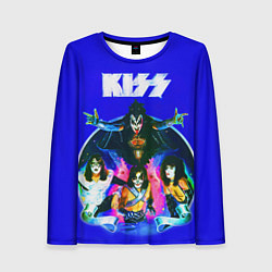 Лонгслив женский Kiss Show цвета 3D — фото 1