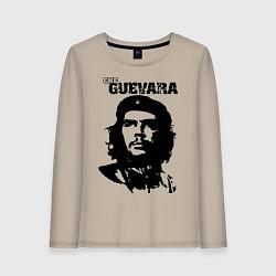 Лонгслив хлопковый женский Che Guevara цвета миндальный — фото 1