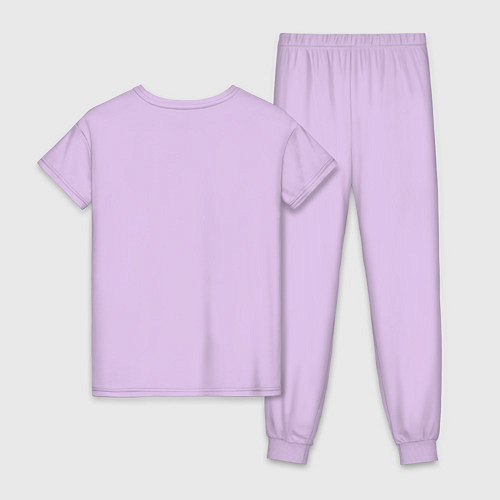 Женская пижама Со мной сложно / Лаванда – фото 2
