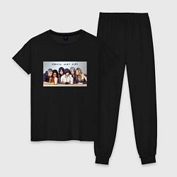 Пижама хлопковая женская Devil May Cry цвета черный — фото 1