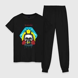 Пижама хлопковая женская Breaking Bad цвета черный — фото 1