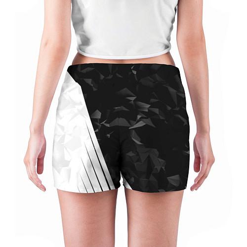 Женские шорты FC Juventus: Abstract / 3D-принт – фото 4