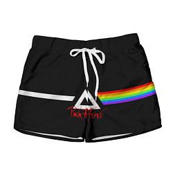 Шорты женские Pink Floyd цвета 3D — фото 1