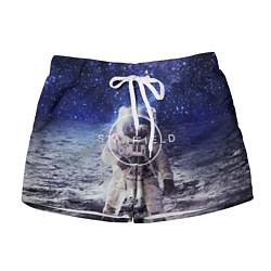 Шорты женские Starfield: Astronaut цвета 3D — фото 1