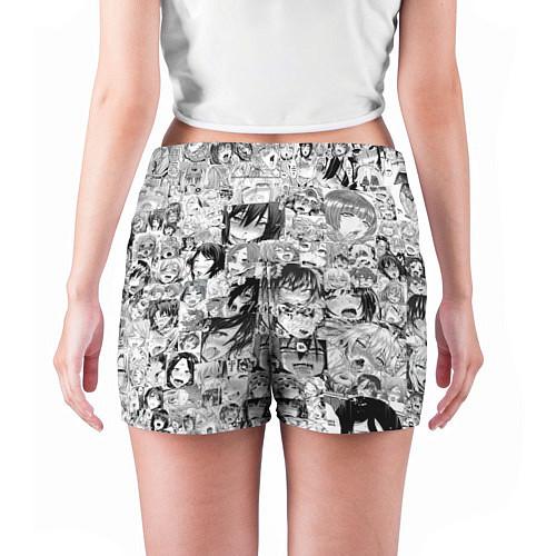 Женские шорты AHEGAO / 3D-принт – фото 4