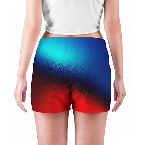 Женские шорты Синий и красный / 3D – фото 4