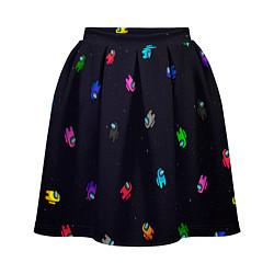 Женская юбка Among Us