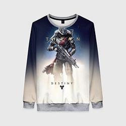 Свитшот женский Destiny: Titan цвета 3D-меланж — фото 1