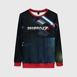 Свитшот женский Mass Effect N7 цвета 3D-красный — фото 1