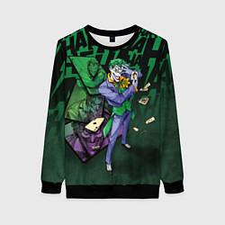 Свитшот женский Joker Games цвета 3D-черный — фото 1