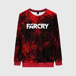 Свитшот женский FARCRY цвета 3D-красный — фото 1