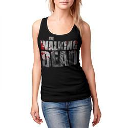 Майка-безрукавка женская The Walking Dead: RIck цвета 3D-черный — фото 2