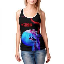 Майка-безрукавка женская The Strain: Monster цвета 3D-белый — фото 2